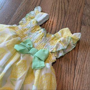 Cute Lemon Baby Dress